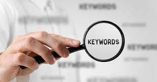 How can you choose best keywords for your website's progress?